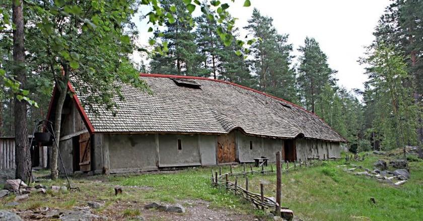 Explore the houses at Årsunda   Courtesy of Årsunda Viking Village