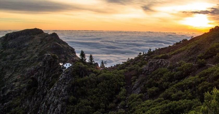 Madeira's mountain tops are incredible © Pixabay