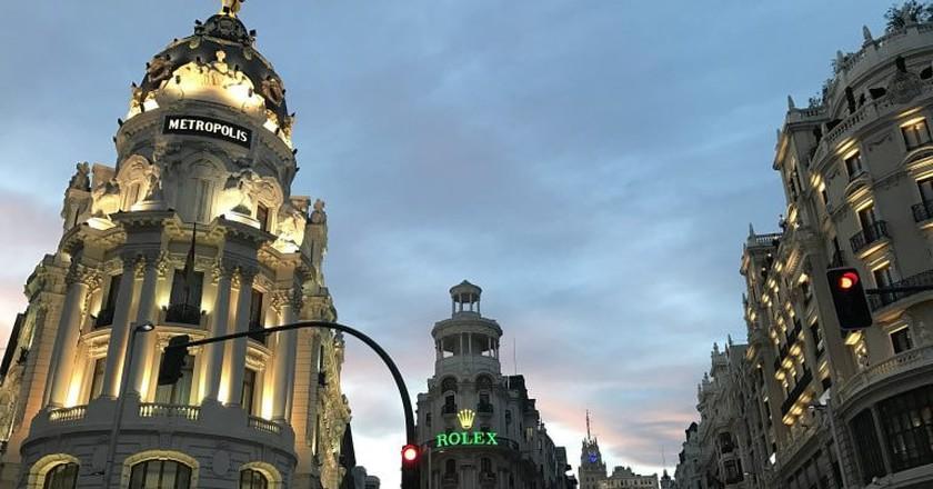 Madrid's Gran Vía|©mcaumel/Pixabay