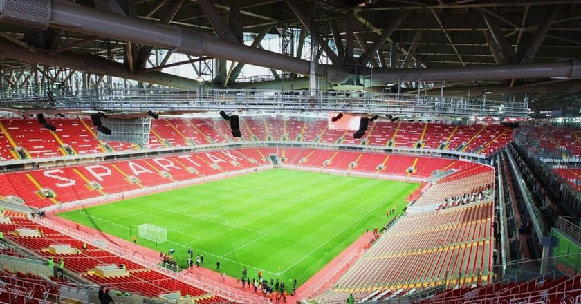 Spartak Stadium I © Дмитрий Садовников / WikiCommons