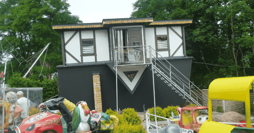 Miedzyzdroje's Upside Down House