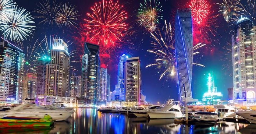 New Year's Eve in Dubai | ©Thomas Nilsson/ Flickr