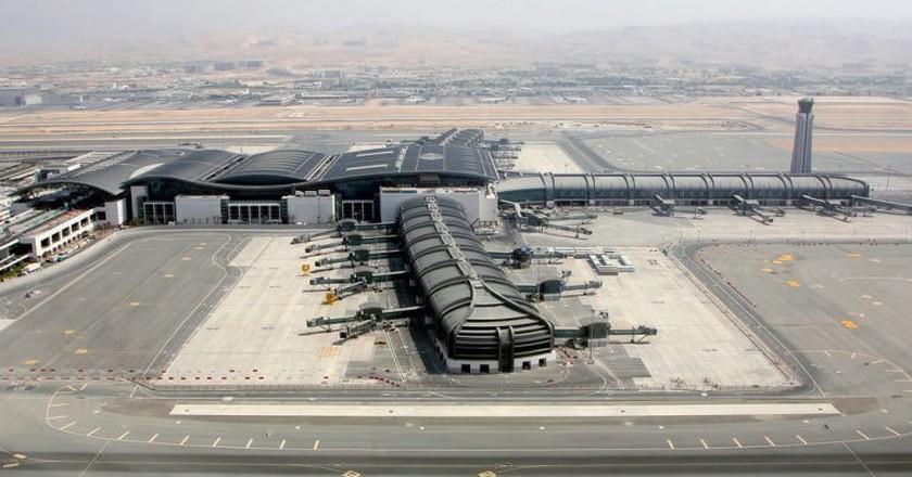 Muscat International Airport    © Konstantin von Wedelstaedt/Wikipedia Commons