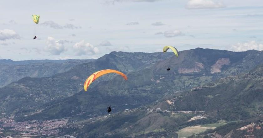 Paragliding in Medellin | © scarebet / Pixabay