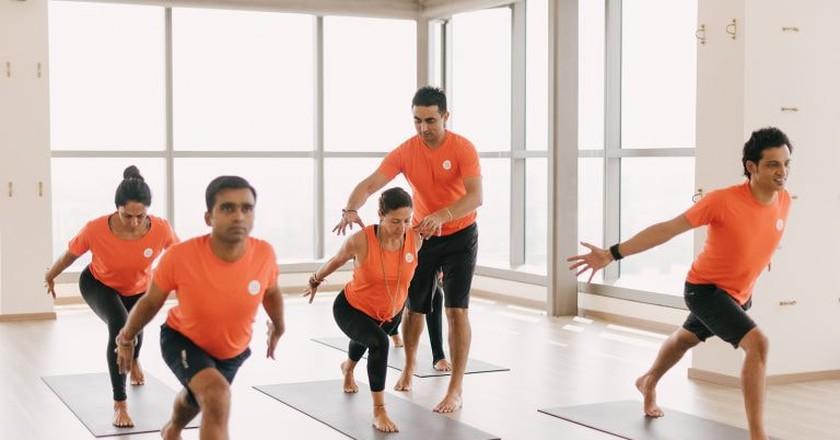 Yoga Studio in Singapore   © Platinum Yoga