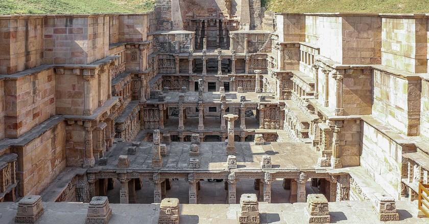 Rani Ki Vav is a seven storey deep stepwell