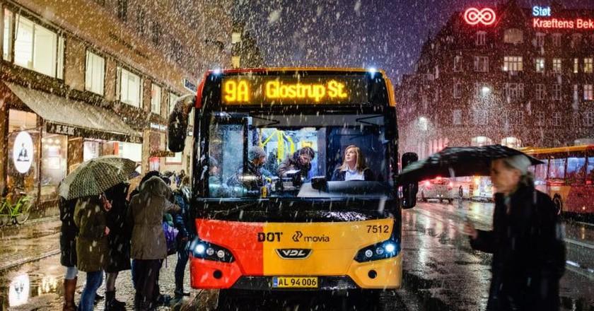 Snowy Copenhagen |© Kristoffer Trolle / Flickr