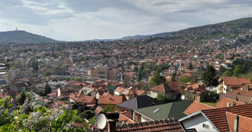 View of Sarajevo | © Sam Bedford