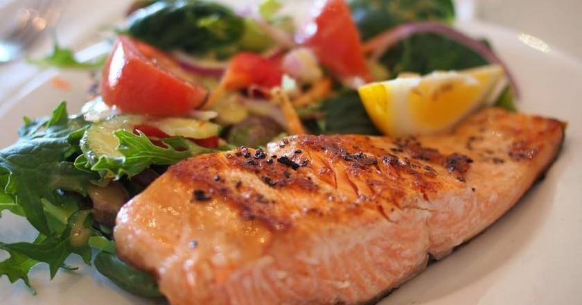 Fish dish | © Cattalin/Pixabay