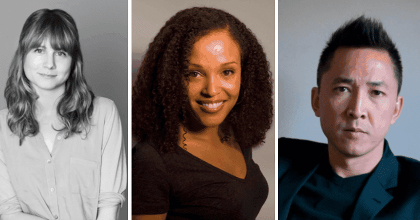 from left to right: Annie Baker, Viet Thanh Nguyen, Jesmyn Ward   photos courtesy of the Pulitzer Board and National Book Foundation