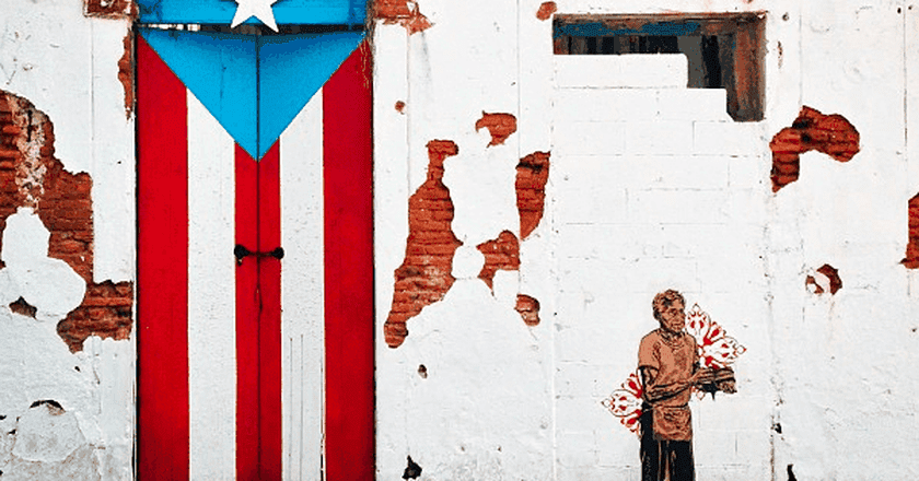 Painted door in old San Juan   © Jared Zimmerman / Wikimedia Commons