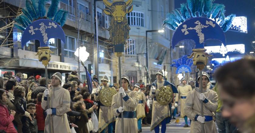 A Kings' Day parade in Granada, Spain; StockphotoVideo/Shutterstock