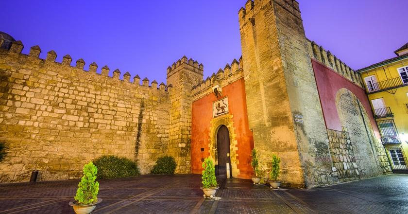 The main entrance to Seville's Alcazar palace; Sean Pavone/shutterstock
