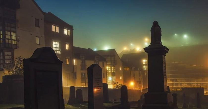 Old Carlton Burial Ground in Edinburgh
