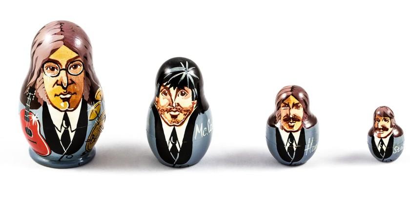 Matryoshka Beatles Dolls |© Faber1893/Shutterstock