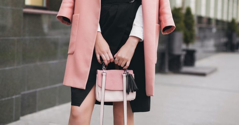 Pink in the workplace   © MRProduction/Shutterstock