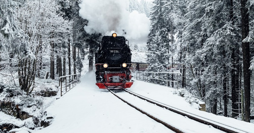 The Most Scenic Train Journeys in Germany