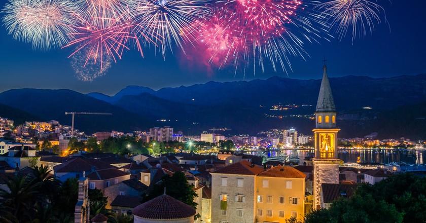New Year's Eve Budva | © Olena Z/Shutterstock