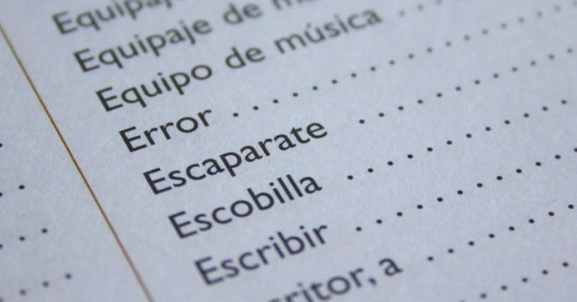 """<a href=""""https://pixabay.com/en/spanish-language-error-learn-speak-761512/"""" target=""""_blank"""" rel=""""noopener noreferrer"""">Learning Spanish   777546 / Pixabay</a>"""