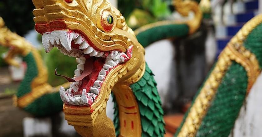 Temple, Vientiane | © SaigonJoe/Pixabay