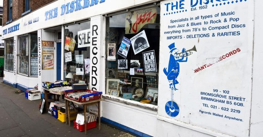 The Diskery, Birmingham   © counteract.co
