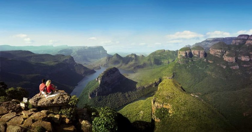 The Blyde River Canyon as seen from a viewpoint | Courtesy of South African Tourism