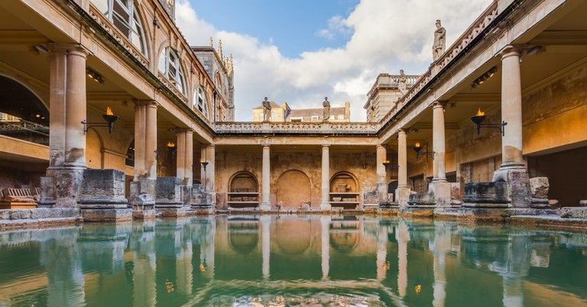 The Story Behind the Roman Baths in Bath