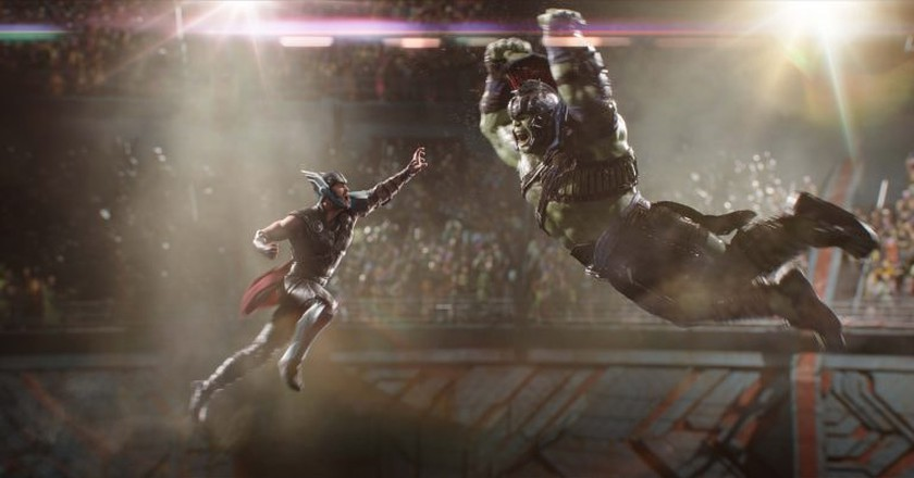 Thor (Chris Hemsworth) and Hulk (Mark Ruffalo) | © Marvel Studios 2017
