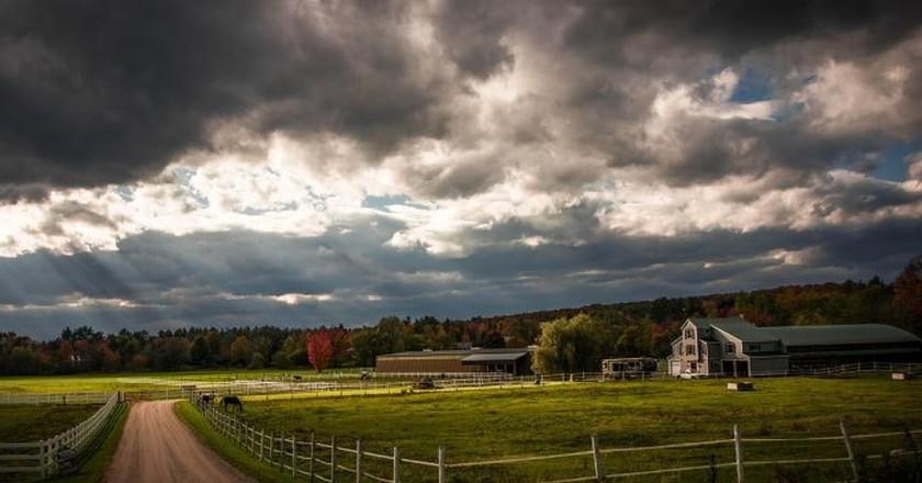 Vermont Farm   © Miriamichelle/Pixabay