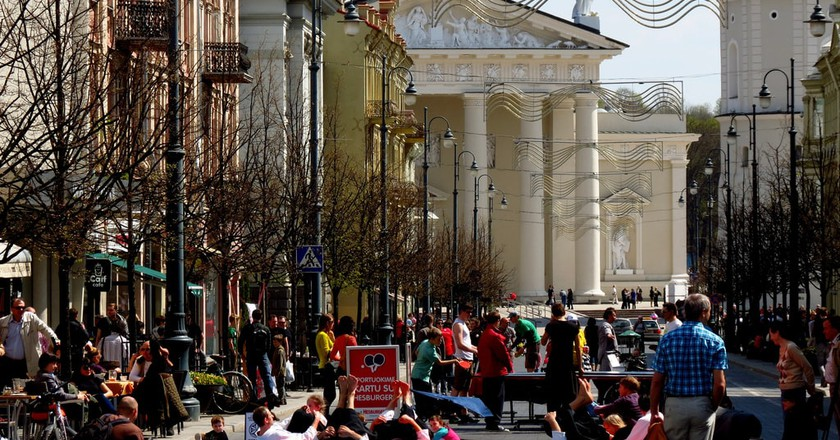 Vilnius street | © xorge/Flickr