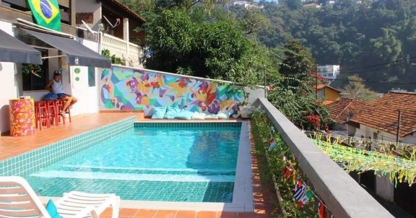 The pool at Santa Terê Hostel | Courtesy of Santa Terê Hostel