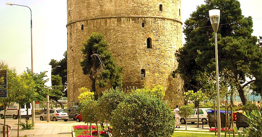 The White Tower, Thessaloniki   © Ωριγένης / WikiCommons