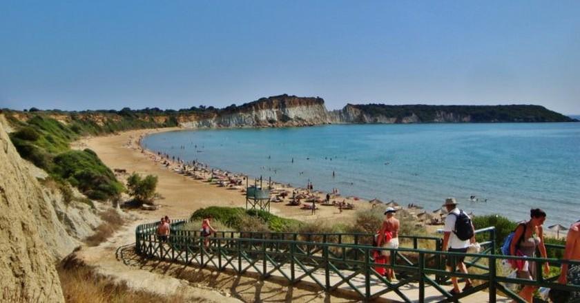 Gerakas beach, Zakynthos