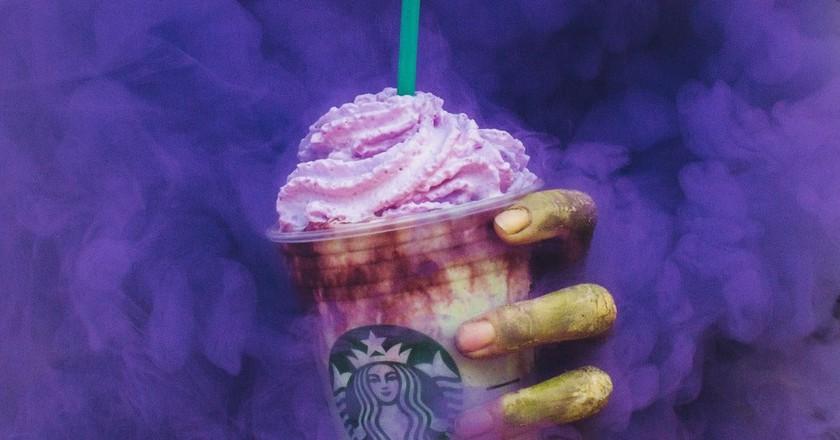 Starbucks' Zombie Frappuccino   Image courtesy of Starbucks