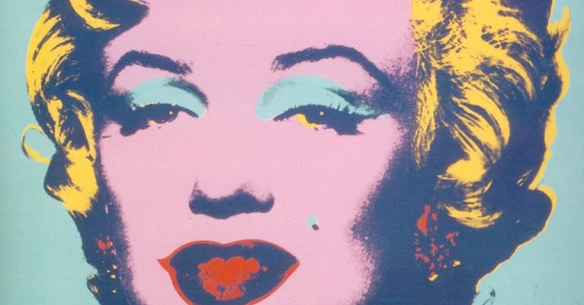 Andy Warhol, Marilyn, 1967 | Photo by Ian Burt via Flickr