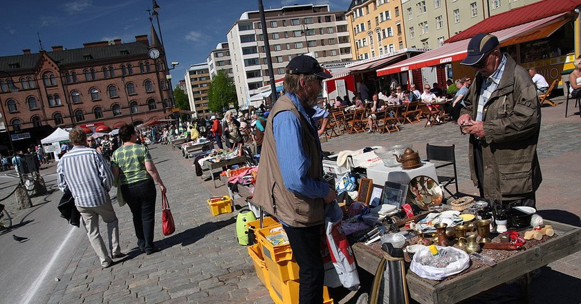 Street vendor in Tampere | © yeowatzup / WikiCommons