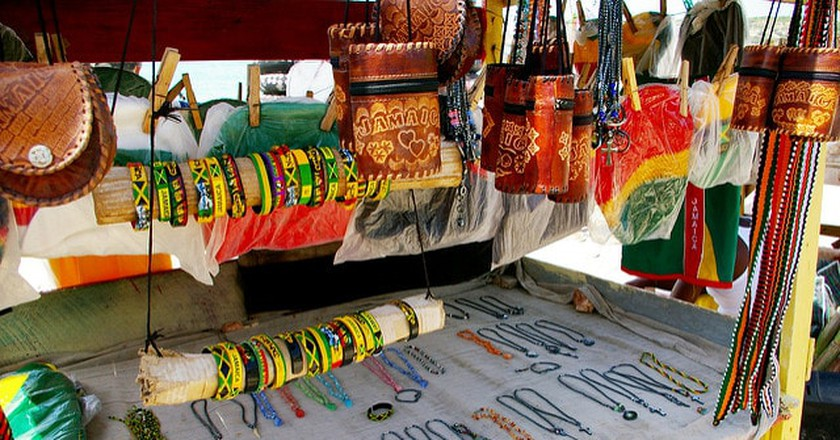 Necklace stall in Jamaica | ©  Christina Xu/Flickr