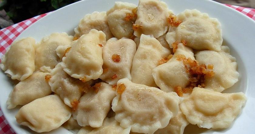 Pierogi, Polish dumplings | © Piotrus / WikiCommons