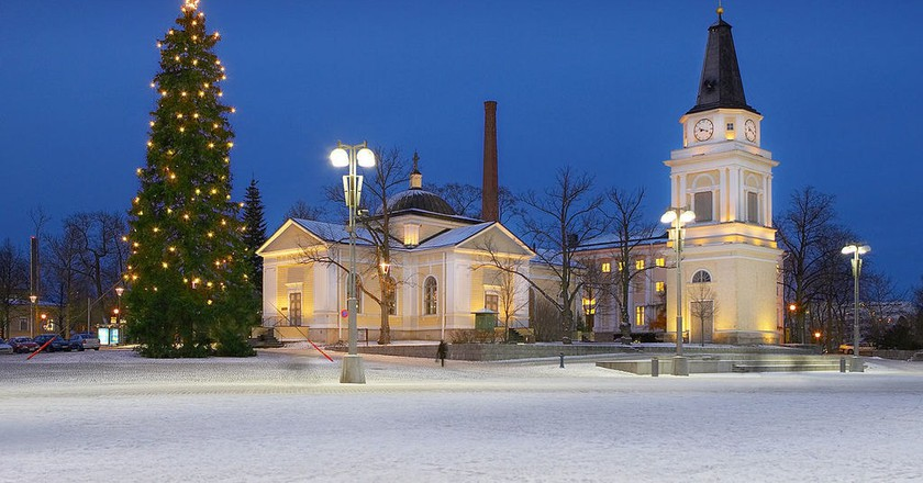 Tampere at Christmas |  © WikiCommons