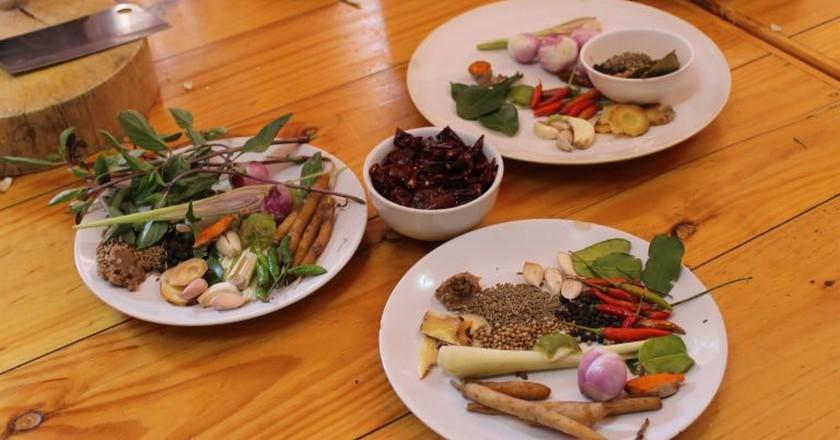 Different Thai curry ingredients | © Connie/Flickr