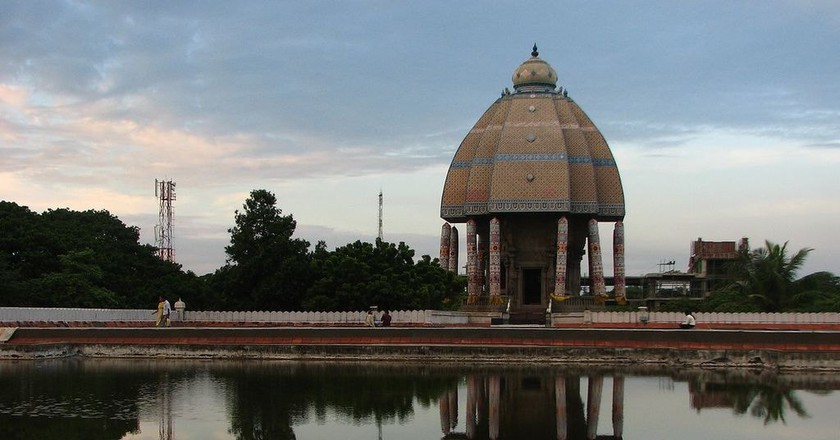 Valluvar Kottam is one of Chennai's most popular modern monuments |