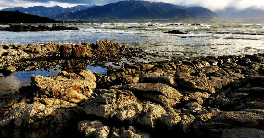 Kaikoura Seascape Before the Earthquake | © Bernard Spragg/Flickr