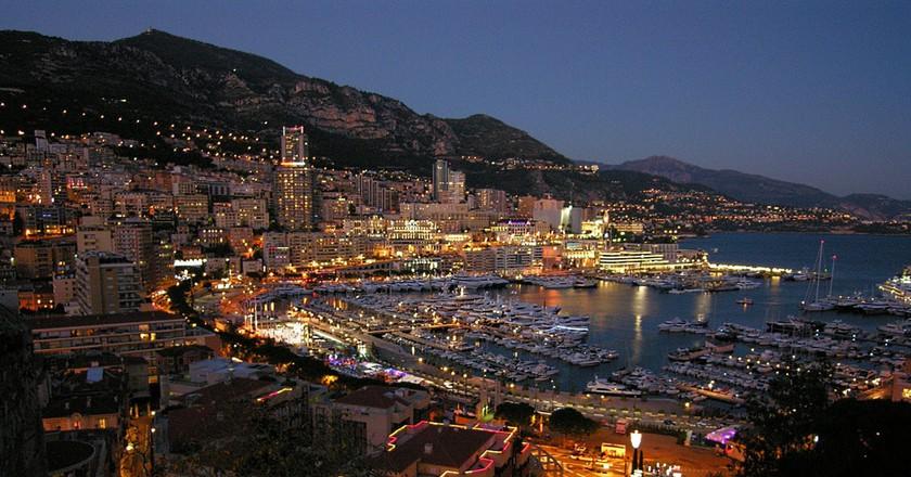 Monaco by night   © Luca Galli/Flickr