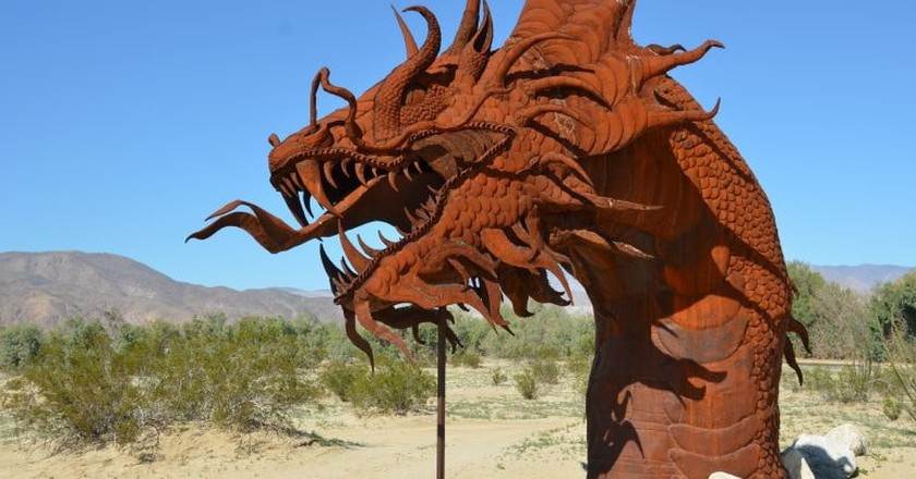 A Ricardo Breceda sculpture in Anza-Borrego | © Rob Bertholf / Flickr