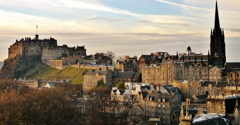 Old and New Towns of Edinburgh   © Kyle Magnuson / Flickr
