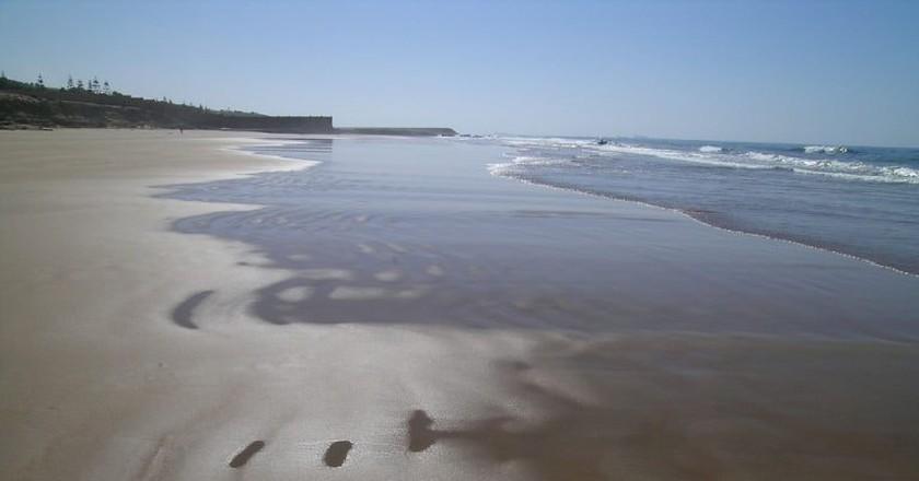 Untrodden, pristine sands on an Agadir beach   © Hugues / Flickr
