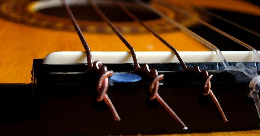 Guitar strings | © Axel/Flickr
