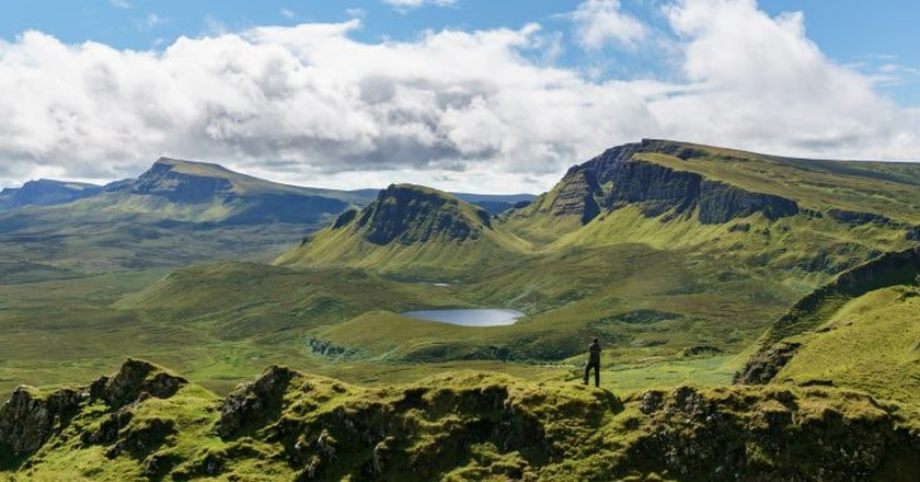 South over the Quiraing Isle Of Skye| ©Colin/Flickr