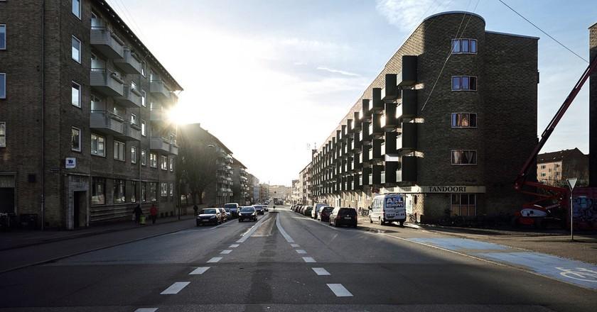 Frederiksborgvej, Nordvest |