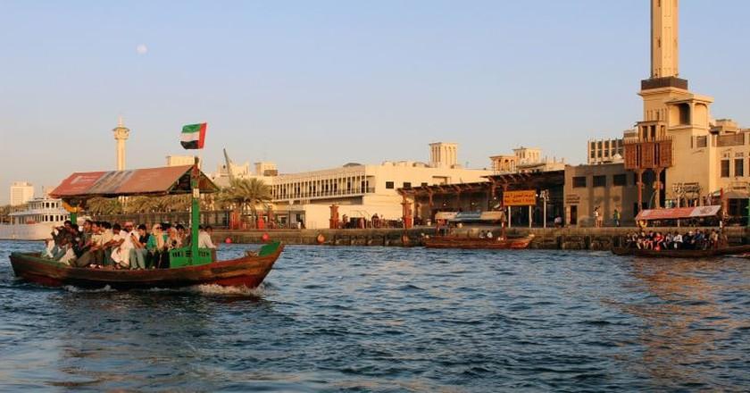 Old Dubai by boat   © siska maria eviline/Flickr
